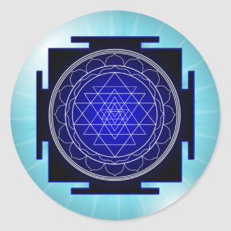 sri yantra stickers