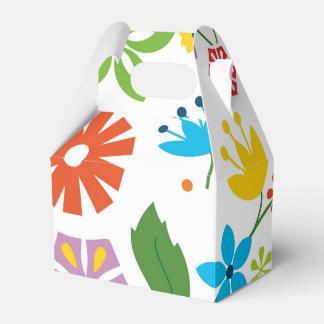 Sring Flowers Favour Box