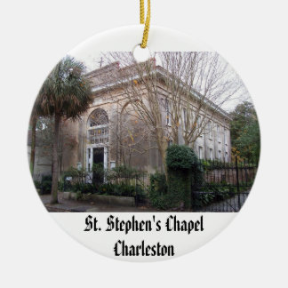 ss2, St. Stephen's ChapelCharleston Christmas Ornament