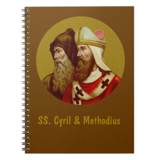 SS. Cyril & Methodius (M 001) Spiral Notebooks