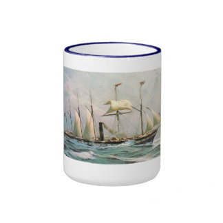 SS Great Britain 1843 Designed by Brunel Ringer Mug