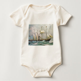 SS Great Britain 1845 Baby Bodysuits