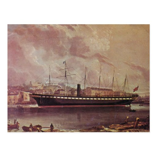 SS Great Britain Postcards