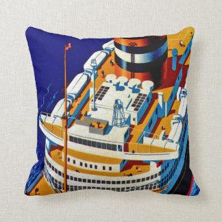 SS Nieuw Amsterdam Cushion