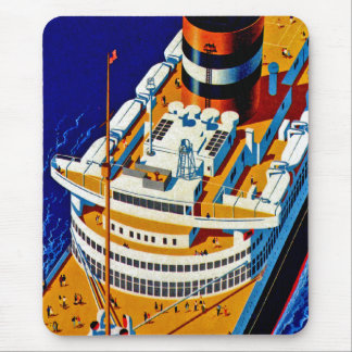 SS Nieuw Amsterdam Mouse Pad