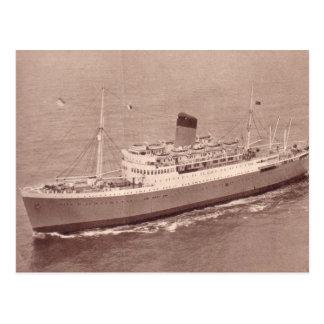 SS Rhodesia Castle, Union Castle Line Postcard