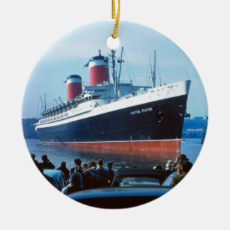SS United States Christmas Ornament
