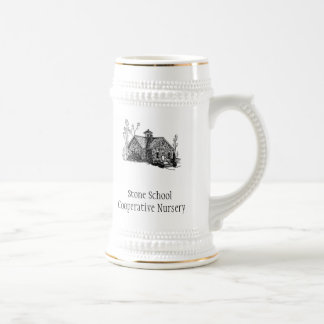 SSCN stein with logo and name
