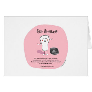 SSPG26-Got Attitude Sweet and Sour Puss Greeting Cards