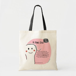 SSPG41-Hi Hello Day Sweet and Sour Puss Budget Tote Bag
