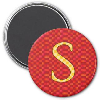 SSS 7.5 CM ROUND MAGNET