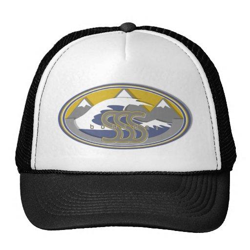 sss BOARDER logo Trucker Hat