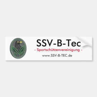 SSV-B-TEC BUMPER STICKER