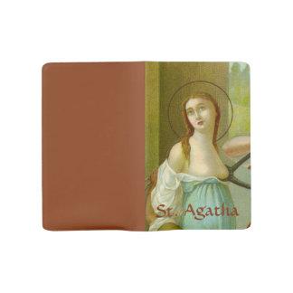 St. Agatha (M 003) (Style #1) Large Moleskine Notebook