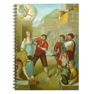 St. Agatha (M 003) (Style #3) Notebook