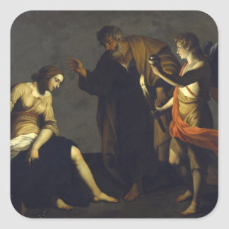 St. Agatha w/St. Peter & Angel - Alessandro Turchi Stickers