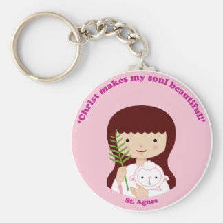 St. Agnes Key Ring