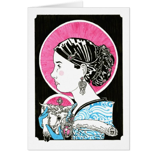 St. Agnes of Rome Notecard