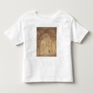 St. Alban's Cathedral, Hertfordshire, c.1797 (w/c, T-shirts