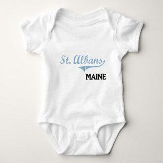St. Albans Maine City Classic T Shirt