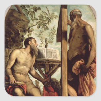 St Andrew and St Jerome Stickers