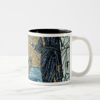 St. Andrew and St. Peter Two-Tone Coffee Mug