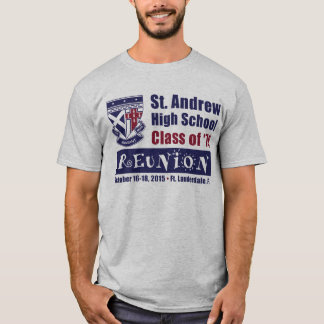 St. Andrew High School Class of 1979 Reunion T-Shirt