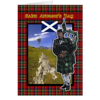 St Andrew s Day Saint Andrew s Day card