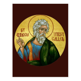 St. Andrew the First Called Prayer Card