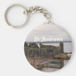 St Andrew's Castle Ruins Key Chains