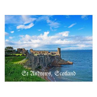 St Andrews Castle, Scotland Postcard