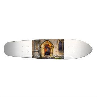 St Andrews Church Aysgarth Custom Skate Board