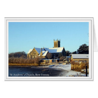 St Andrew's Church, Bere Ferrers Card