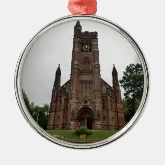 St Andrew's Church, Moffat Silver-Colored Round Decoration