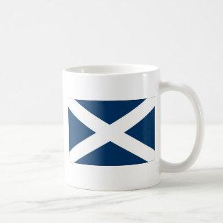 St Andrews Cross Basic White Mug