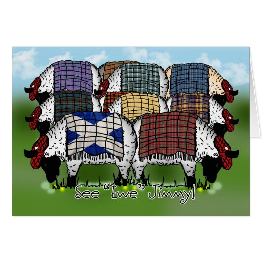 St. Andrew's Day Sheep - See Ewe Jimmy