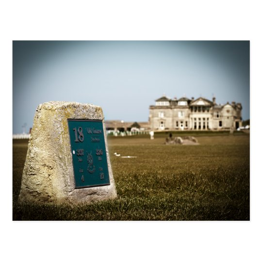 St Andrews Golf Course Postcard
