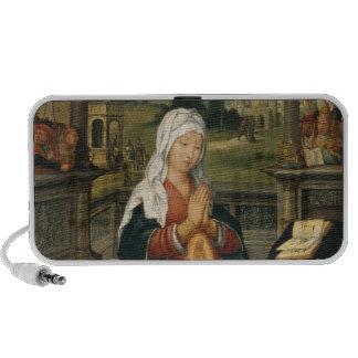 St.Anne Conceiving the Virgin Notebook Speaker