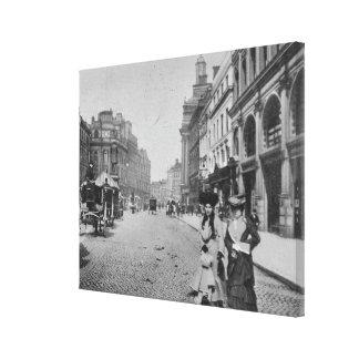 St. Ann's Square, Manchester, c.1910 Canvas Print