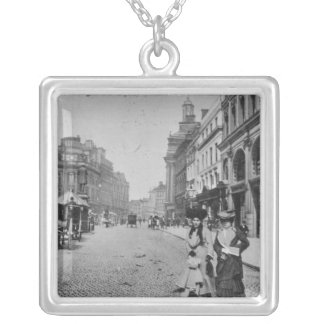 St. Ann's Square, Manchester, c.1910 Silver Plated Necklace