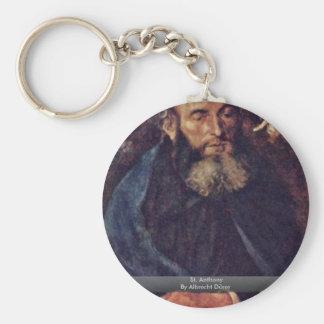 St. Anthony By Albrecht Dürer Key Chains