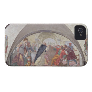 St. Anthony Driving Out the Gamblers (fresco) iPhone 4 Cases