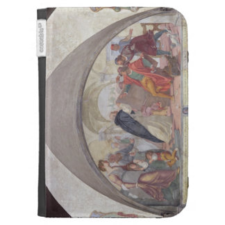 St. Anthony Driving Out the Gamblers (fresco) Case For The Kindle