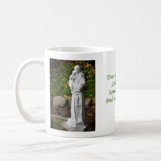 St. Anthony Classic White Coffee Mug