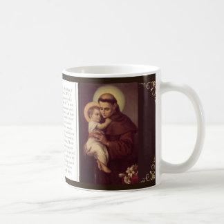 St. Anthony Mug w/prayer