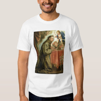 St. Anthony of Padua  adoring the Christ Child Tshirt