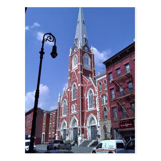 St. Anthony of Padua, Greenpoint, Postcard