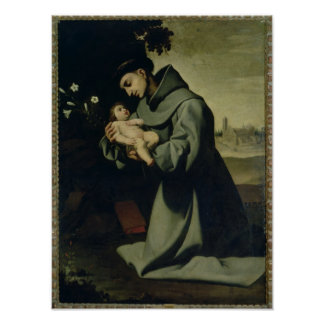 St. Anthony of Padua Poster