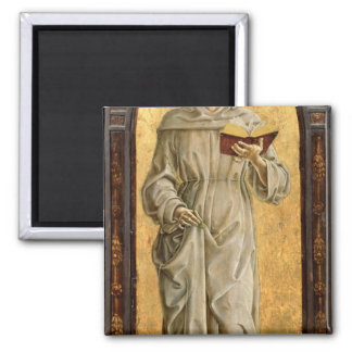 St. Anthony of Padua  Reading Square Magnet