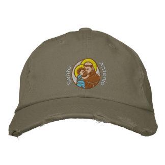 St Anthony - Sant'Antonio - Santo Antonio Embroidered Hat